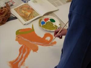 Kunstunterricht Realschule Stufe 8